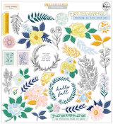 The Best Day Floral Ephemera - Pinkfresh Studio