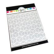 Block Tower Stencil (2 in 1 layering stencil) - Catherine Pooler