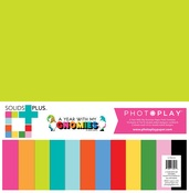 A Year With My Gnomies Solids Paper Pack - Photoplay - PRE ORDER