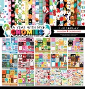 A Year With My Gnomies Canadian Calendar Kit - Photoplay - PRE ORDER