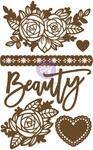 Beauty 1 Chipboard Diecut - Prima - PRE ORDER