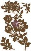 Floral 1 Chipboard Diecut - Prima