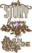 Our Story Chipboard Diecut - Prima