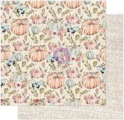 Happy Fall Paper - Hello Pink Autumn - Prima