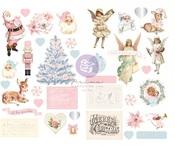 Christmas Sparkle Chipboard Stickers - Prima - PRE ORDER