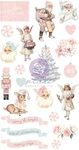 Christmas Sparkle Puffy Stickers - Prima
