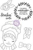 Jamila Media Doll Stamp - Julie Nutting