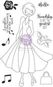 Kamirah Media Doll Stamp - Julie Nutting