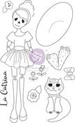 La Catrina Media Doll Stamp - Julie Nutting