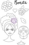 Marygold Media Doll Stamp - Julie Nutting