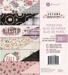 Hello Pink Autumn Collection 6x6 Paper Pad - Prima