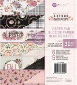 Hello Pink Autumn Collection 6x6 Paper Pad - Prima - PRE ORDER