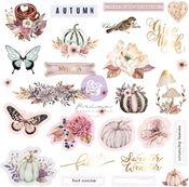 Hello Pink Autumn Ephemera - Prima - PRE ORDER