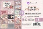 Hello Pink Autumn 4X6 Journaling Cards - Prima