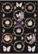 Hello Pink Autumn Collection Rice Paper - Prima - PRE ORDER