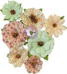 Hello Pink Autumn Warm Mitten Flowers - Prima