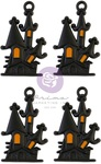 Matte Haunted House Charms - Thirty-One - Prima - PRE ORDER