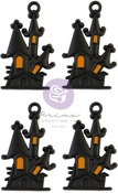 Matte Haunted House Charms - Thirty-One - Prima