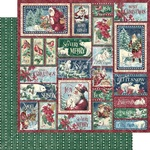 So Very Merry Paper - Let It Snow - Graphic 45 - PRE ORDER - PRE ORDER