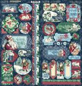 Let It Snow Stickers - Graphic 45 - PRE ORDER - PRE ORDER