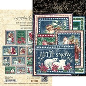 Let It Snow Journaling Cards - Graphic 45 - PRE ORDER - PRE ORDER