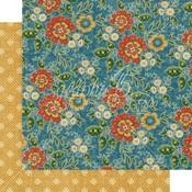 Floral Gala Paper - Come One, Come All! - Graphic 45 - PRE ORDER - PRE ORDER