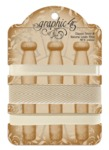 Classic Ivory & Natural Linen Trim - Graphic 45