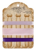 French Lilac & Purple Royalty Trim - Graphic 45 - PRE ORDER