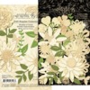 Shades Of Ivory Flower Assortment - Graphic 45