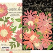 Shades Of Pink Flower Assortment - Graphic 45