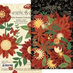 Shades Of Red Flower Assortment - Graphic 45 - PRE ORDER