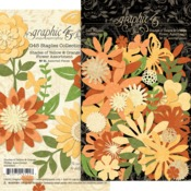 Shades Of Yellow & Orange Flower Assortment - Graphic 45 - PRE ORDER