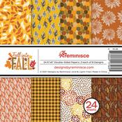 Fall Into Fall 6x6 Paper Pack - Reminisce - PRE ORDER