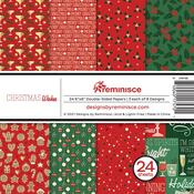 Christmas Wishes 6x6 Paper Pack - Reminisce - PRE ORDER
