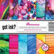 Got Ink? 6x6 Paper Pack - Reminisce - PRE ORDER