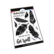Boho Feathers Stamp Set - Catherine Pooler
