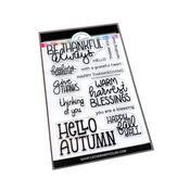 Give Thanks Sentiments Stamp Set - Catherine Pooler