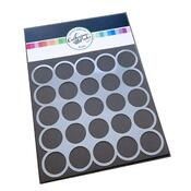 """1"""" Circle Template Stencil - Catherine Pooler"""