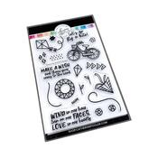 Cares to the Wind Stamp Set - Catherine Pooler