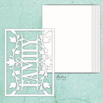 Family Chipboard Album Base - Mintay Chippies - Mintay Papers