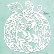 Pumpkin Chipboard Diecut - Mintay Chippies - Mintay Papers - PRE ORDER
