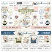 Written Memories 12x12 Cardboard Stickers - Mintay Papers - PRE ORDER