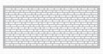 Slimline English Brick Wall Stencil - My Favorite Things