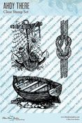 Ahoy There Clear Stamps - Blue Fern Studios