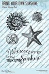 Bring Your Own Sunshine Clear Stamps - Blue Fern Studios