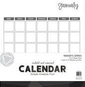 Undated 12x12 Undated Unbound Calendar - Photoplay - PRE ORDER