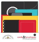 Fun At The Park Cards & Envelopes - Doodlebug