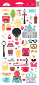 Fun At The Park Icons Stickers - Doodlebug