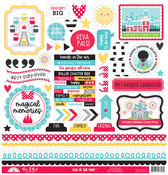 Fun At The Park This & That Sticker Sheet - Doodlebug