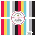 Fun At The Park Textured Cardstock Assortment Pack - Doodlebug